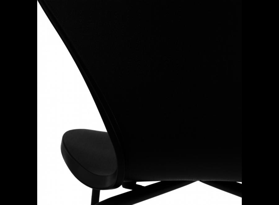 Vlinderstoel Jazz- Zwart