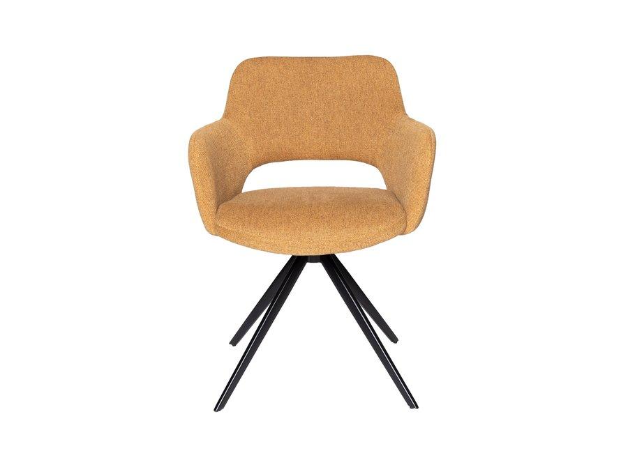 Chaise de salle à manger Cosy | Turn - Moutarde