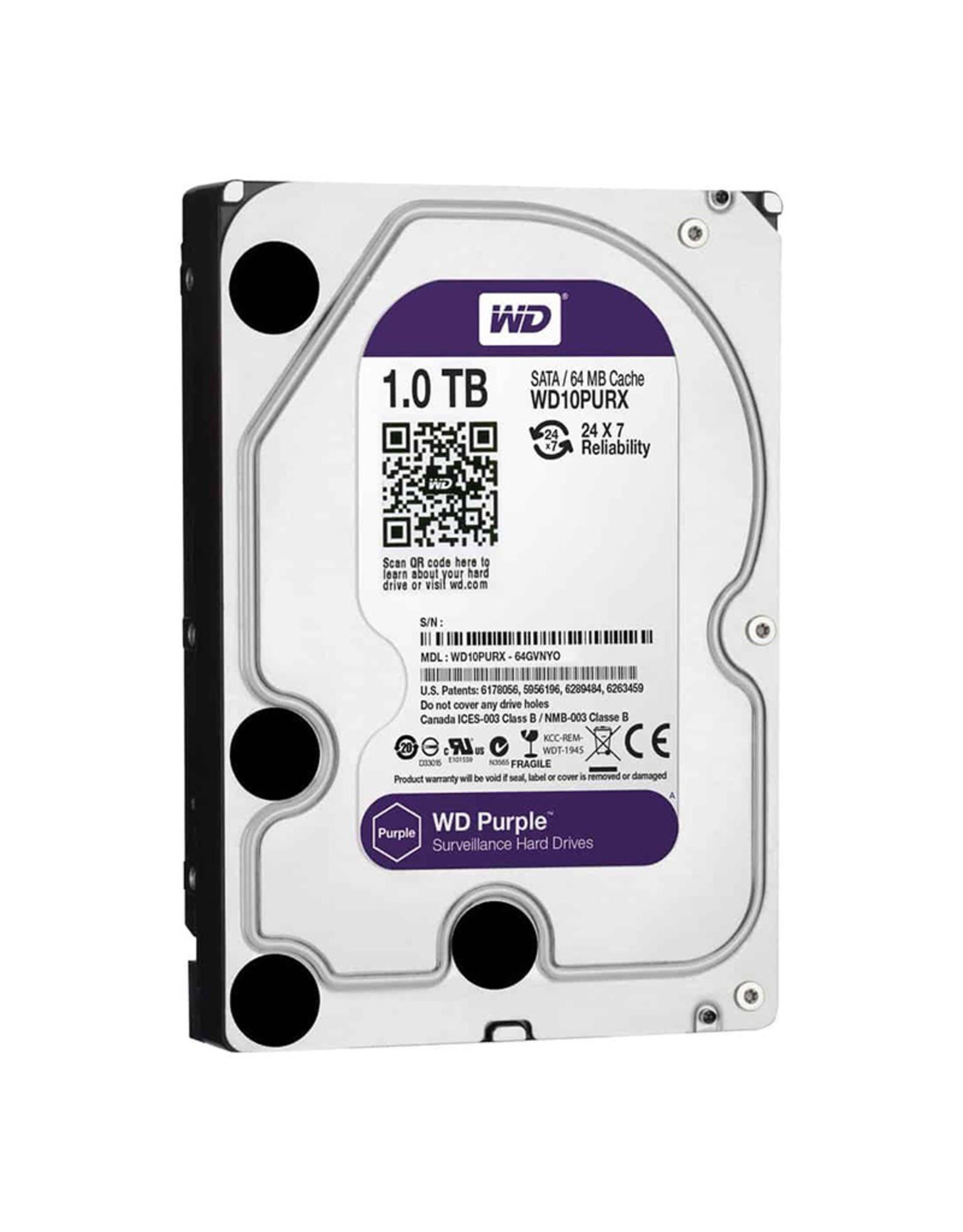 WD Purple surveillance HDD 1 TB
