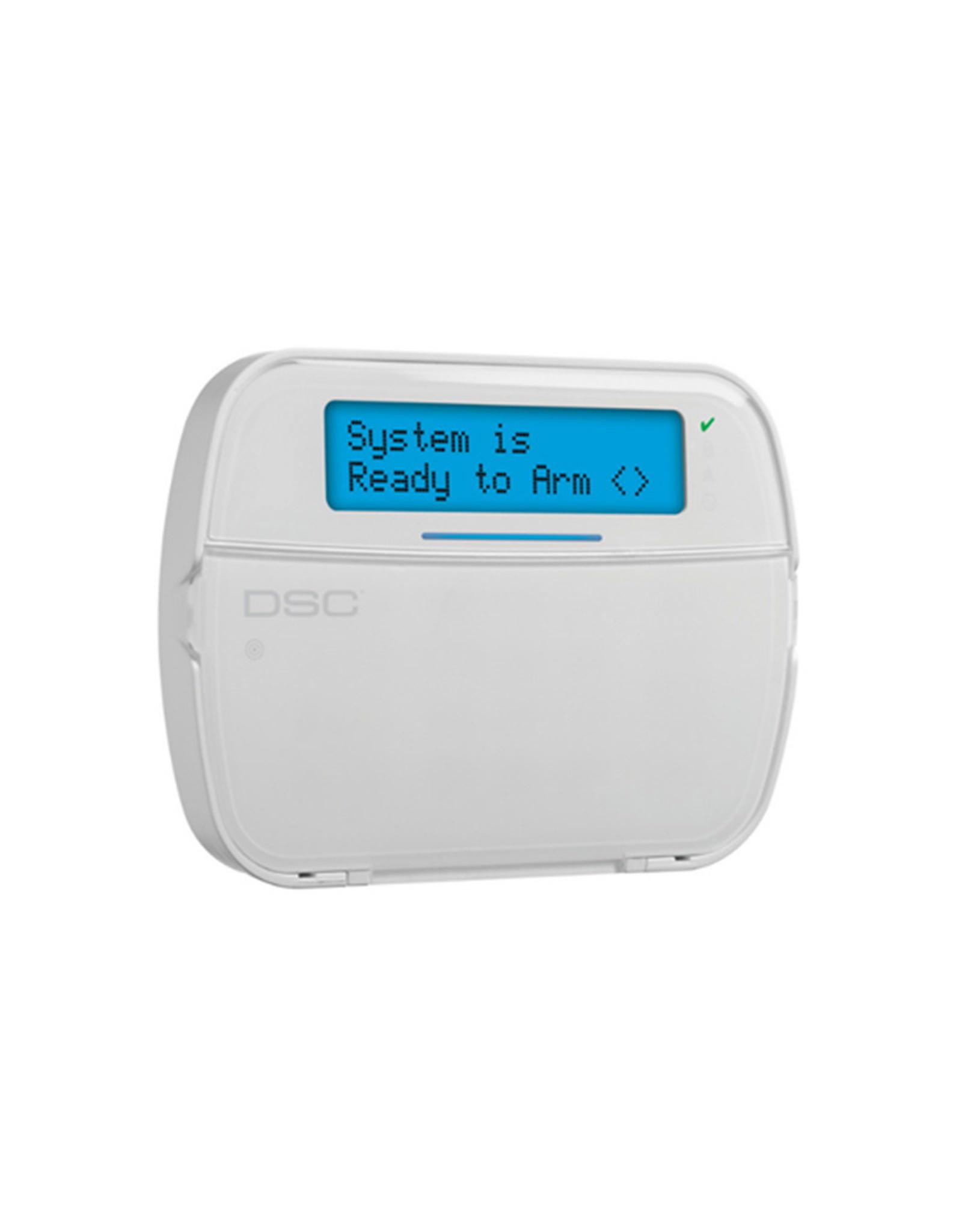 DSC HS2LCDRFP8E2. Bedraad Bedienpaneel met PROX en RF ontvanger en Prox