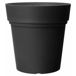 Pot ronde 38 cm antracite