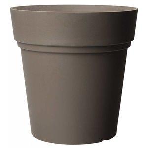 Pot ronde 38 cm taupe