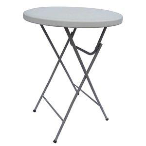 Table haute 110 cm