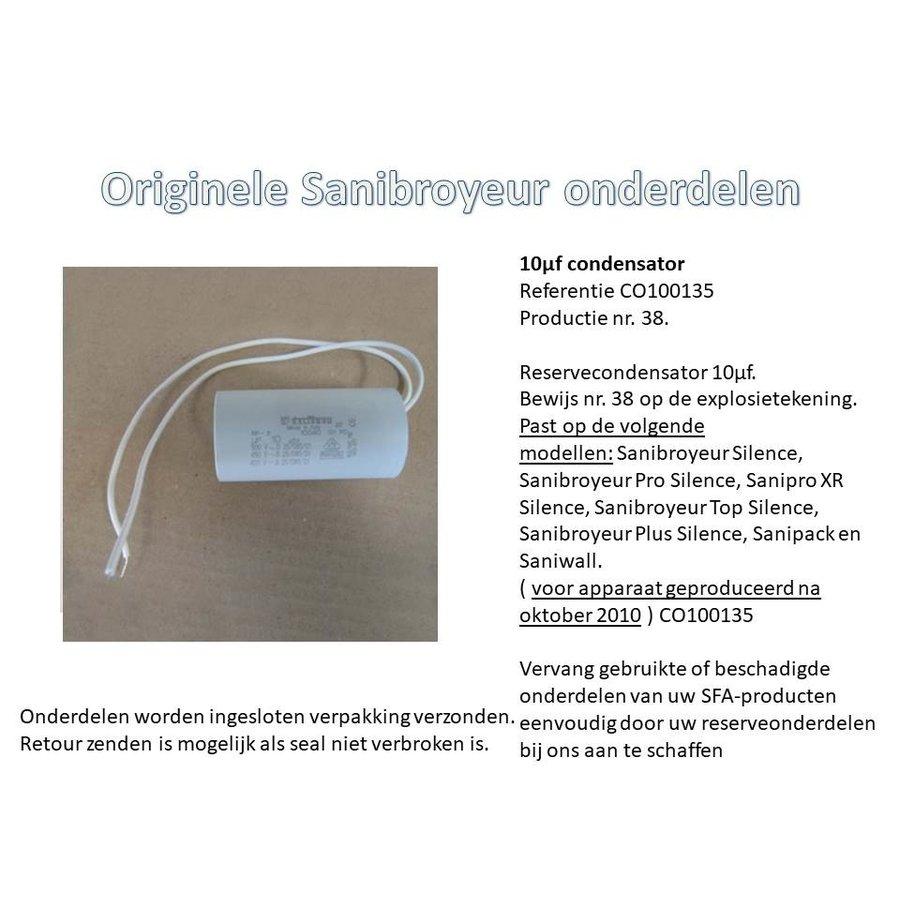 10µf condensator  CO100135-2