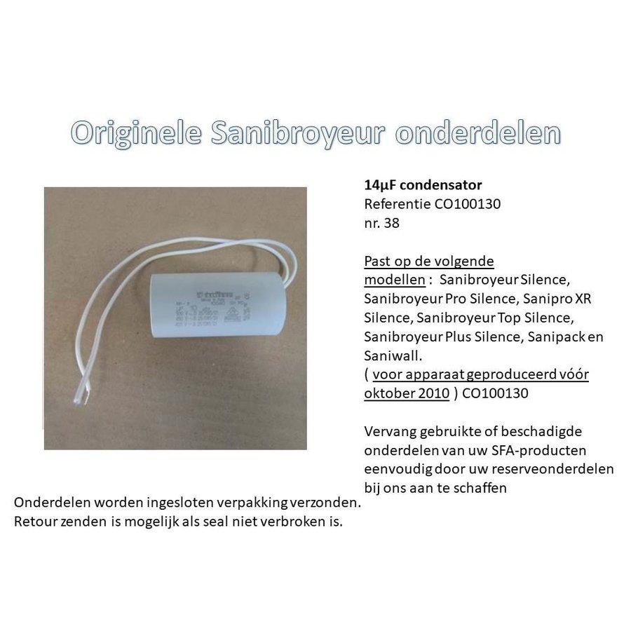 14µF condensator  CO100130-2