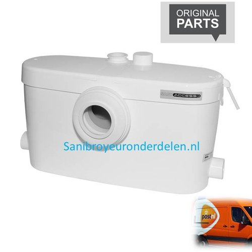 Sanibroyeur Saniaccess 3 onderdelen