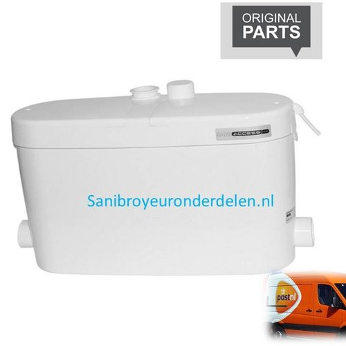 Sanibroyeur Saniaccess pump onderdelen