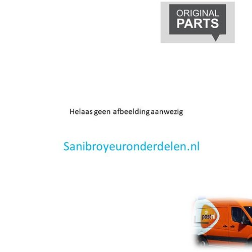 Sanibroyeur Saniplus up onderdelen