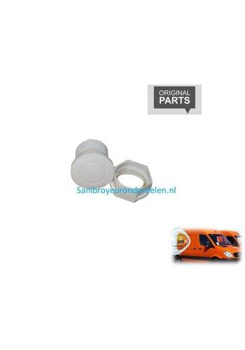 Sanibroyeur  C30110 wit Pneumatische knop