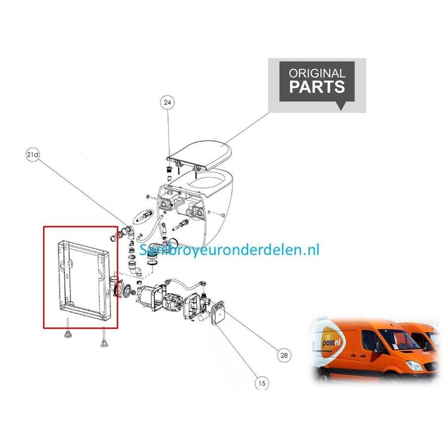 Draagframe Sanibroyeur comfort eco BH200106-1