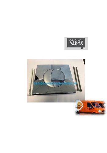 Sanibroyeur  80SI-31181710 Sanicombi bedieningspaneel mat/chroom