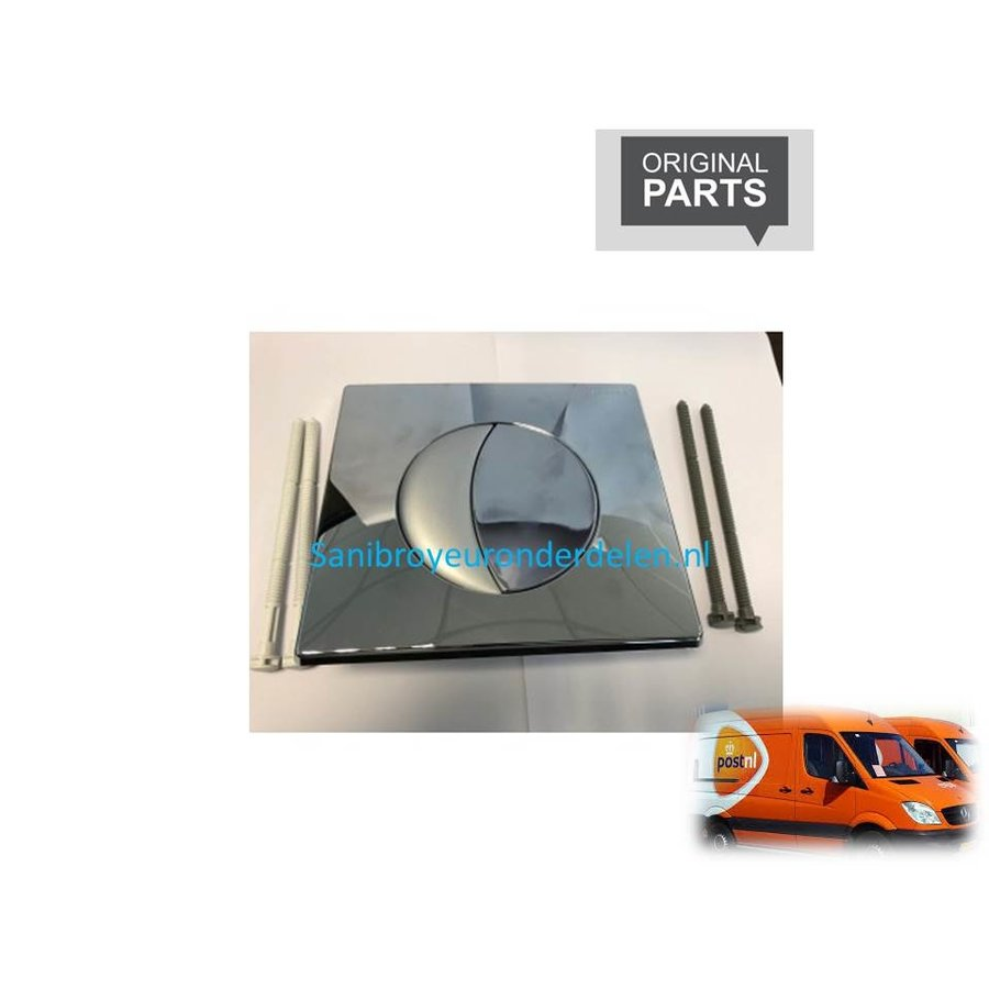 80SI-31181710 Sanicombi bedieningspaneel mat/chroom-1