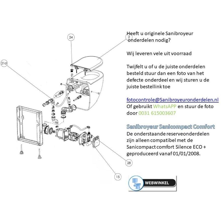 onderdelen tekening Sanicompact Comfort-1