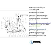 onderdelen tekening Sanicompact 48