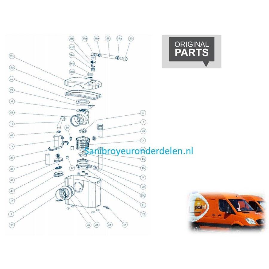 onderdelen tekeningen Sanibroyeur X2-1