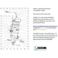 onderdelen tekeningen Sanibroyeur Access 2