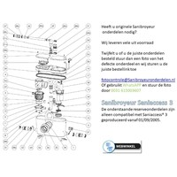 onderdelen tekeningen Sanibroyeur Access 3