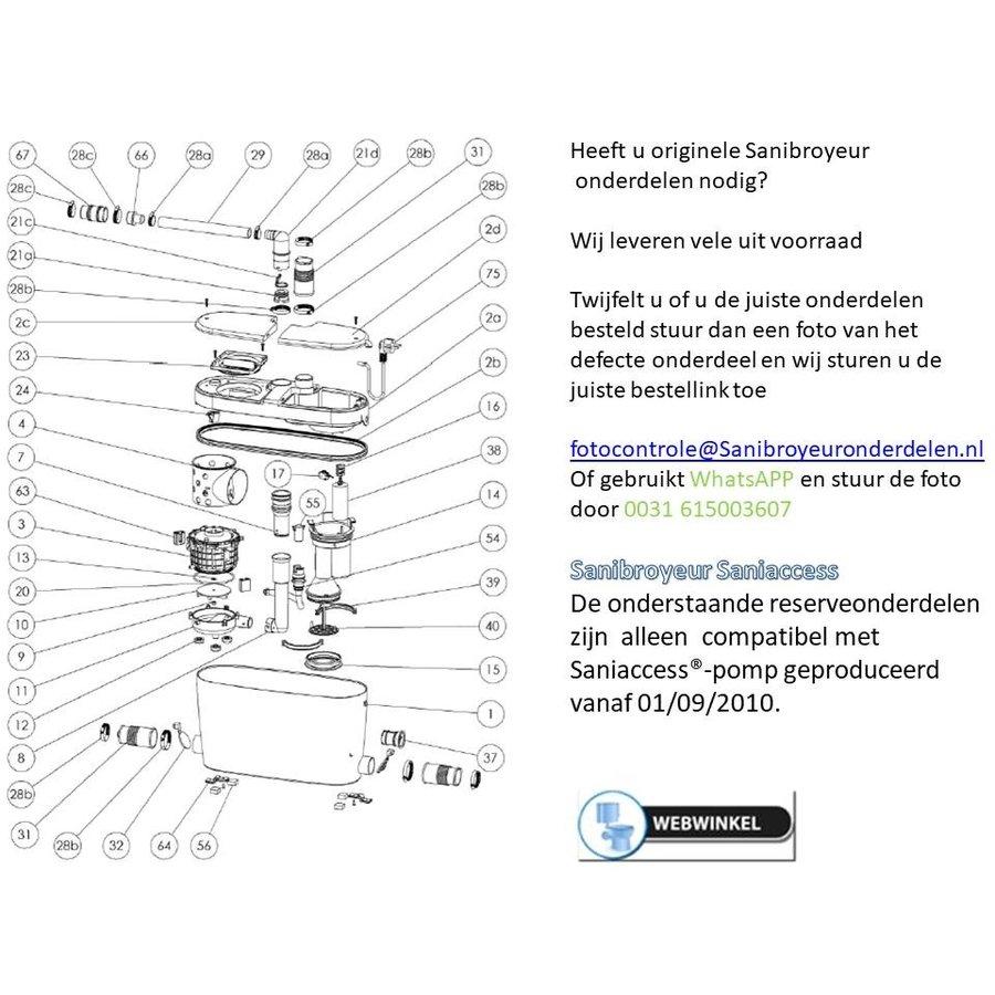 onderdelen tekeningen Sanibroyeur Access-1