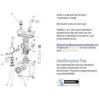 Onderdelen Sanibroyeur Sanitop