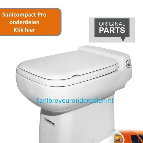 Sanibroyeur Sanicompact luxe onderdelen