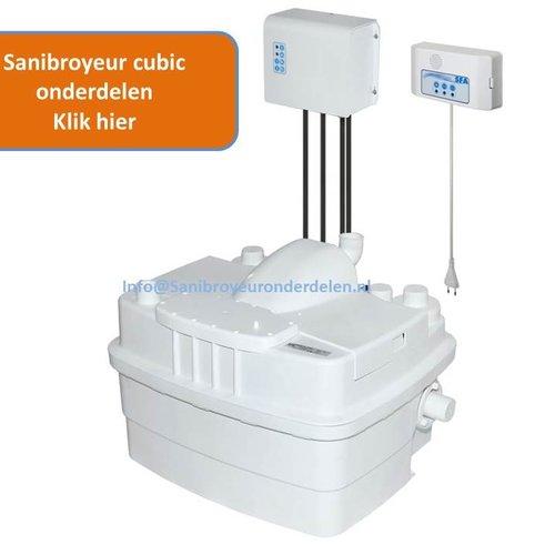Sanibroyeur Sanicubic onderdelen
