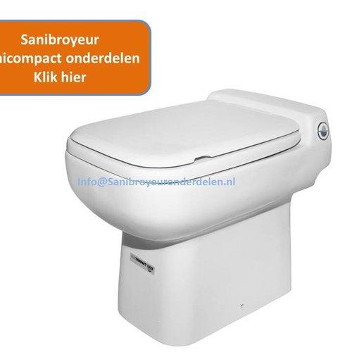 Sanibroyeur Sanicompact onderdelen