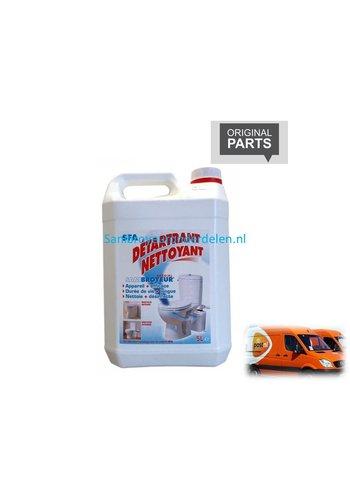 Sanibroyeur  ontkalker / reiningsmiddel 5 liter