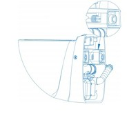 thumb-Sanibroyeur Sanicompact Comfort Box (antraciet ) --2