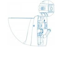 thumb-Sanibroyeur Sanicompact Comfort Box ( beton)-2