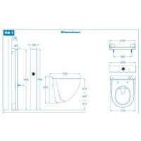 thumb-Sanibroyeur Sanicompact Comfort Box ( beton)-3