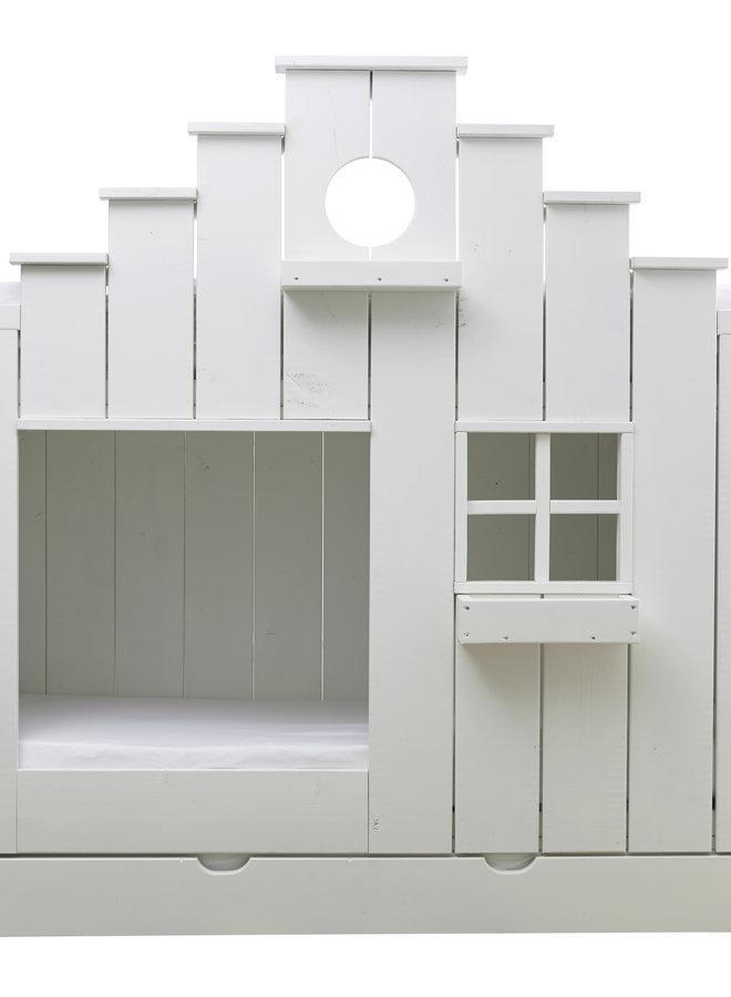 Kinderbed Vogelhuis wit