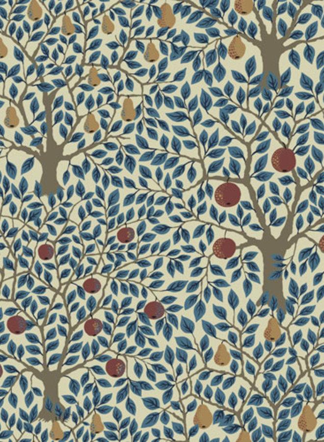Midbec behang Apelviken Pomona blauw 33013