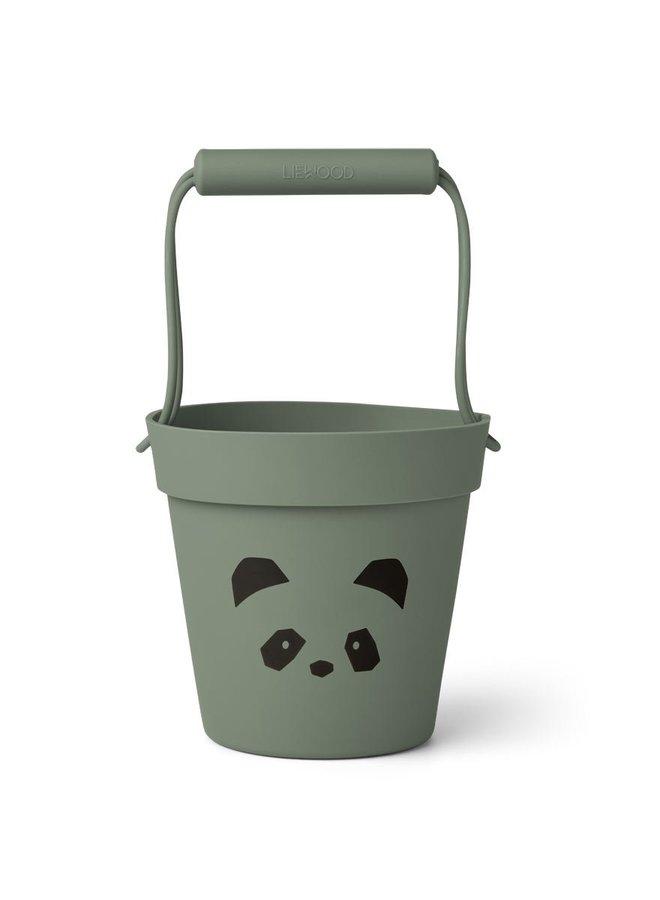 Liewood Linda bucket panda faune green