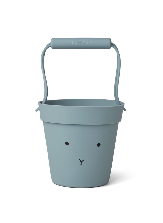Liewood Linda bucket rabbit sea blue