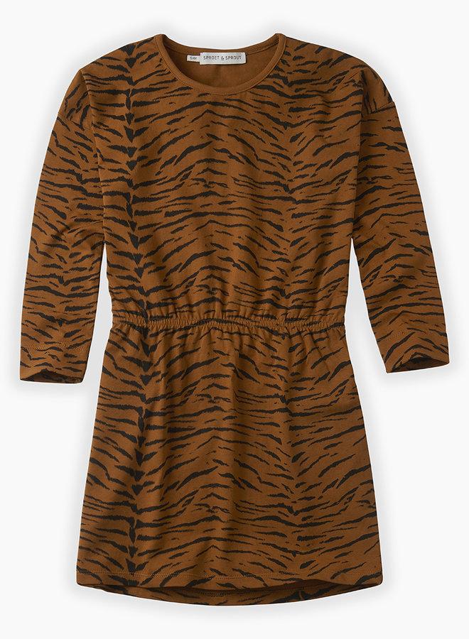 Sproet & Sprout Basic Dress Tiger