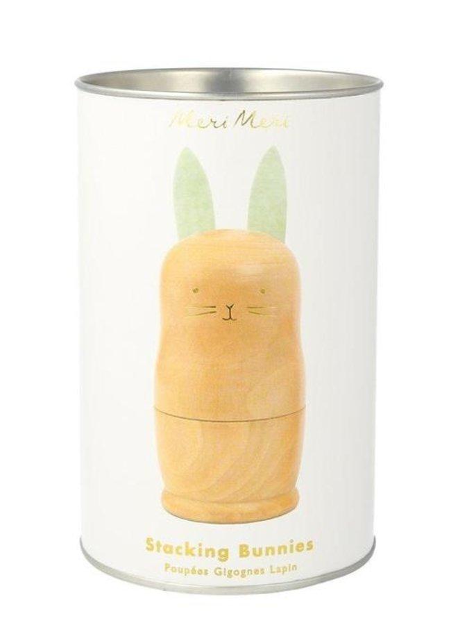 Meri Meri stacking bunnies