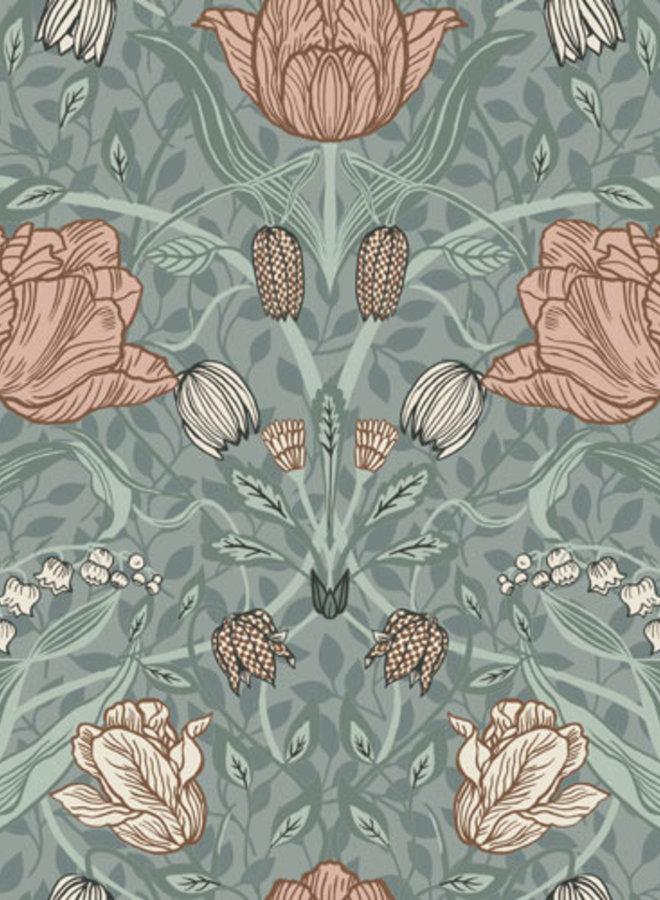 Midbec behang Apelviken Filippa groen 33010
