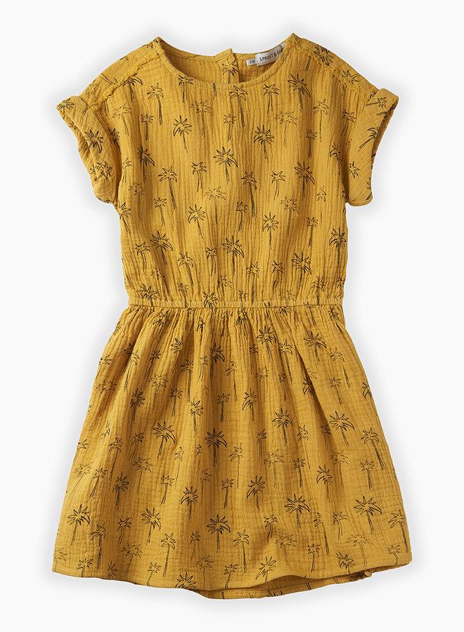 Sproet & Spruit Dress palmtrees