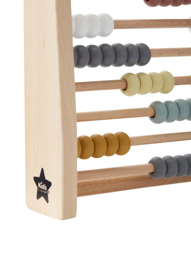 Kids Concept houten telraam multi colour