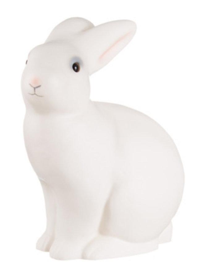 Lamp konijn wit