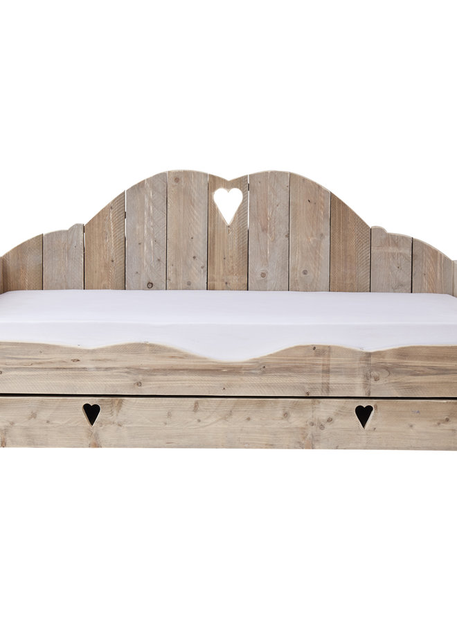 Bedbank Wolk