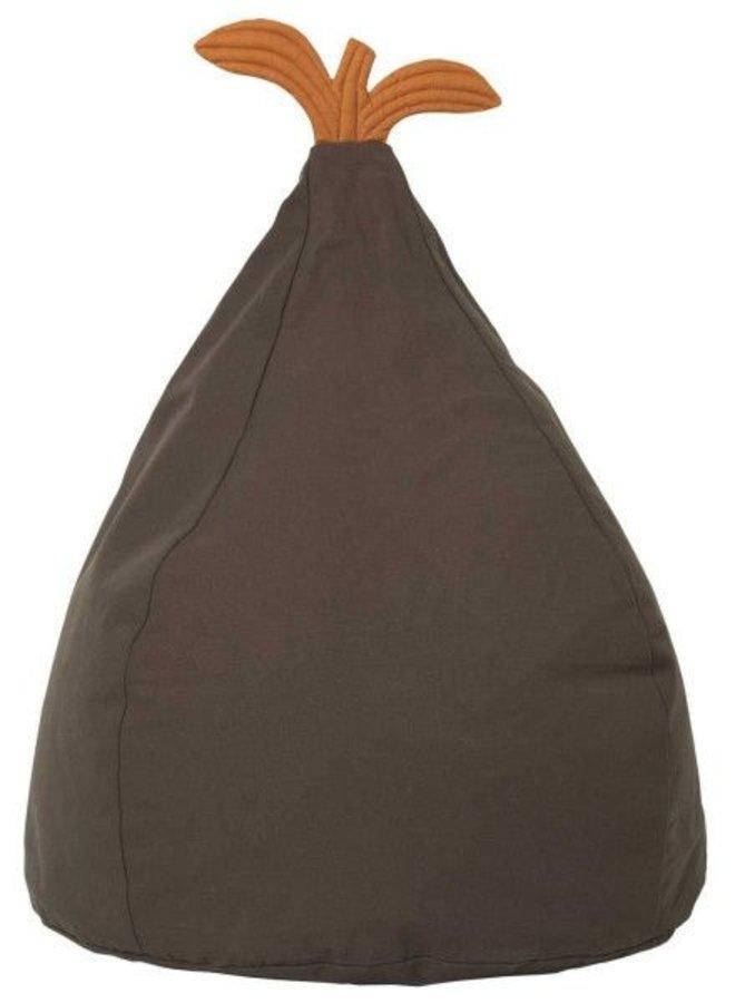 Ferm Living Pear bean bag green