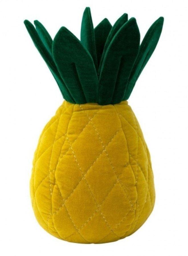 Meri Meri kussen ananas velours