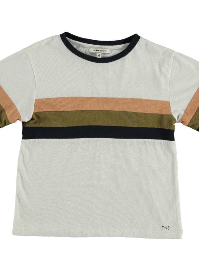 The New Society Dadou indigo t-shirt