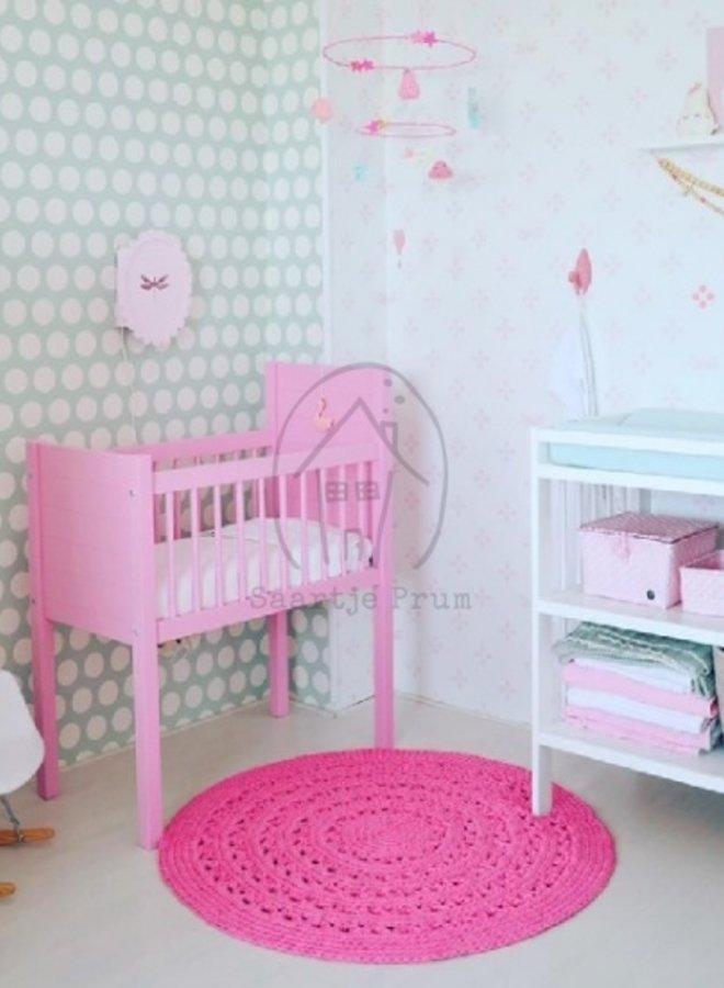 Behang Flo roze