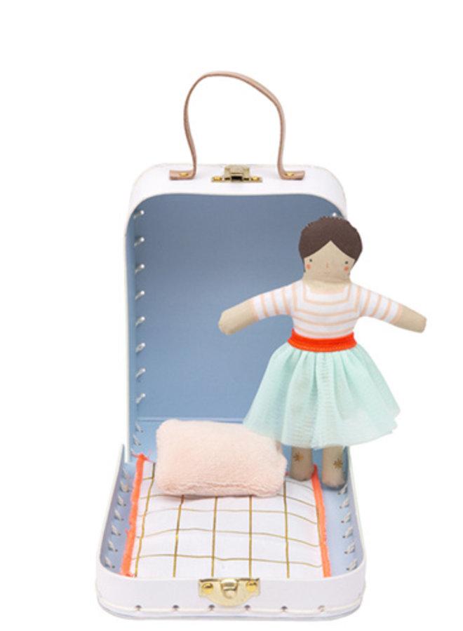 Meri Meri koffersetje met popje Lila