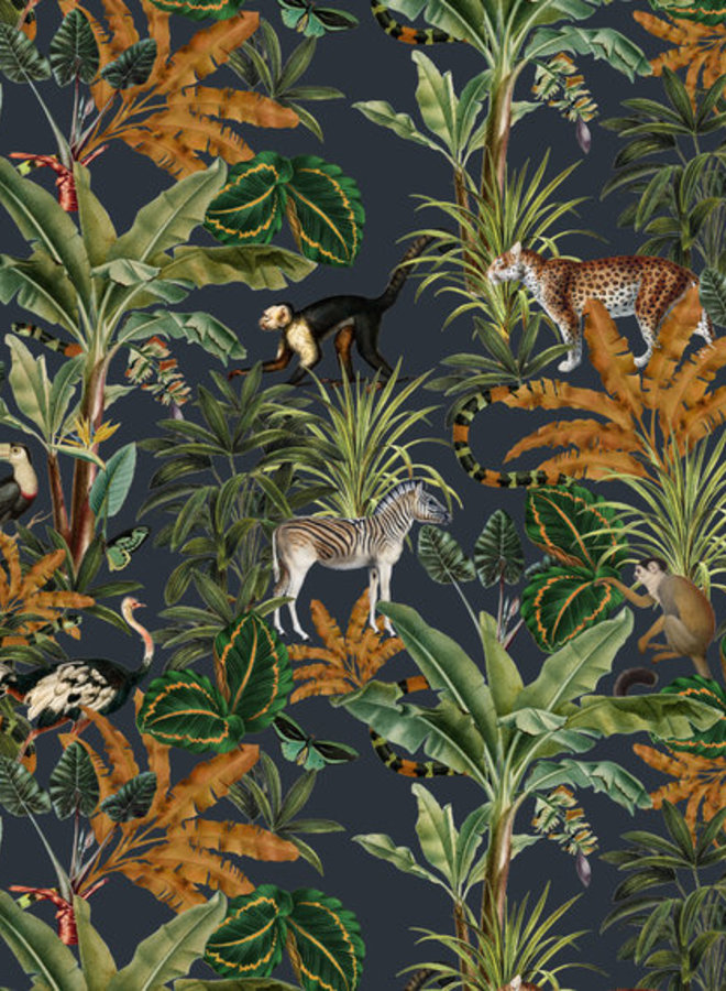 Creative Lab Amsterdam wallpaper mighty jungle