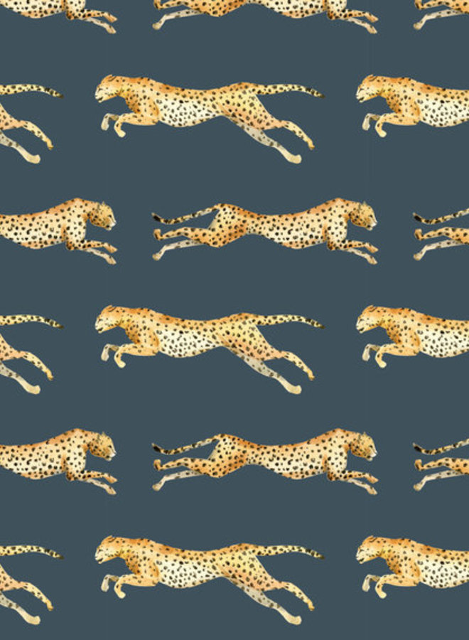 Creative Lab Amsterdam wallpaper leopard grey