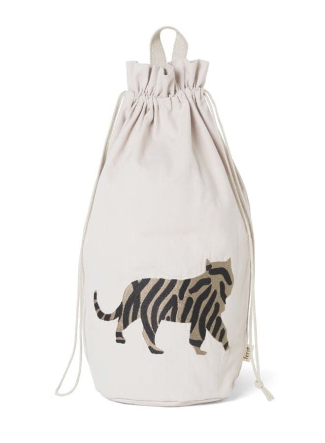 Ferm Living safari opbergzak tijger