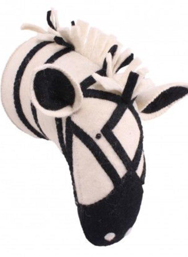Kidsdepot Dierenkop Zebra